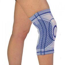 Бандаж Алком 3023 Комфорт на колінний суглоб р.4, сіро-синій