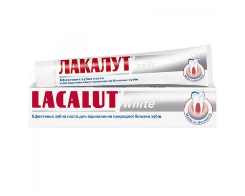 Зубна паста Lacalut (Лакалут) White 50мл
