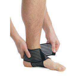 Бандаж на гомілковостопний суглоб еластичний MedTextile 7011 р.М чорний