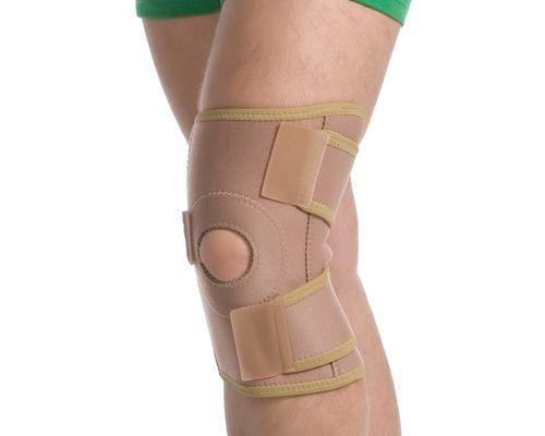 Бандаж на колінний суглоб роз'ємний MedTextile 6058 р.S/M бежевий
