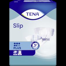 """Підгузки для дорослих TENA Slip Plus р.L (90-145см) №10, """"дихаючі"""""""